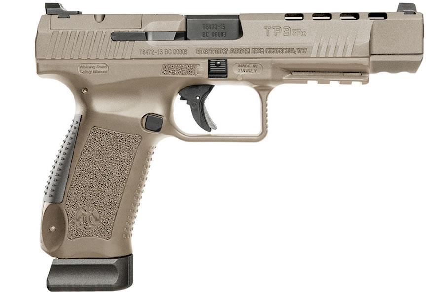 Canik TP9SFx 9mm Desert Tan Optic-Ready Pistol