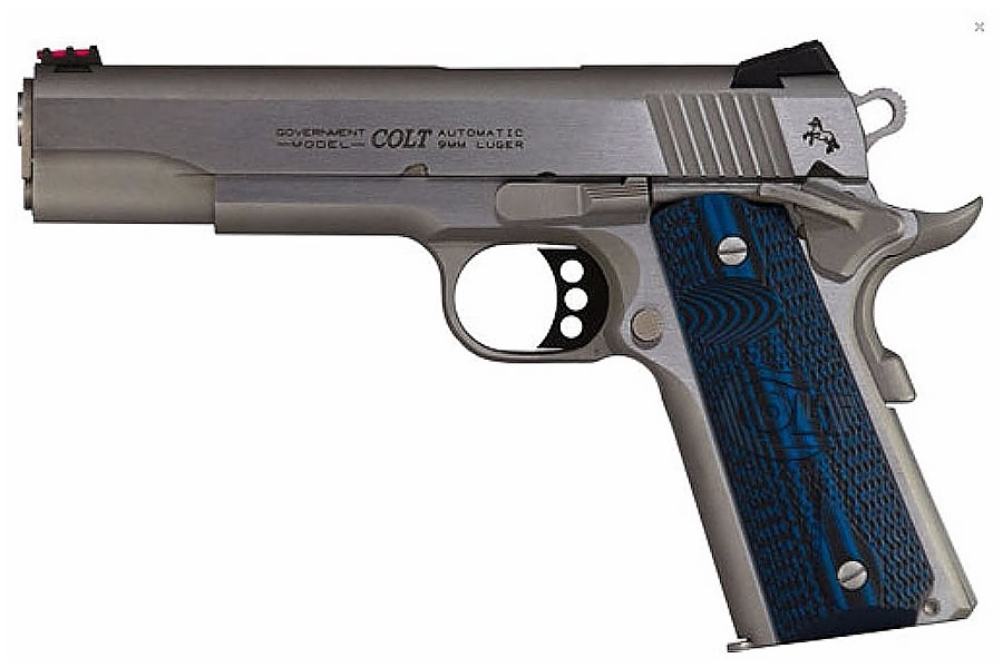 No. 5 Best Selling: COLT SERIES 70 COMPETITION 45ACP 5` BBL STAINLESS