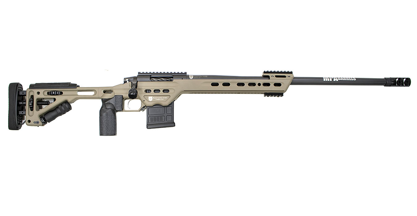 300WMBA 300 Win Mag Bolt-Action Precision Rifle with FDE Finish