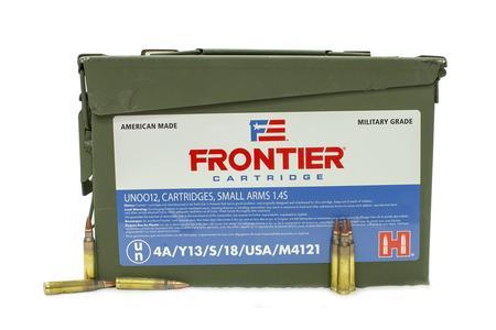 Hornady 5.56 NATO 62 gr Frontier FMJ 500/Case