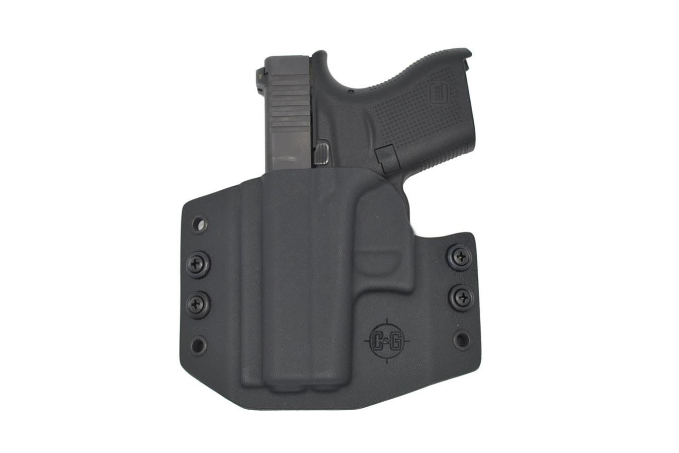Glock 43 - OWB Covert Kydex Holster - Left Handed