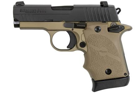 SIG SAUER P938 COMBAT 9MM WITH NIGHT SIGHTS