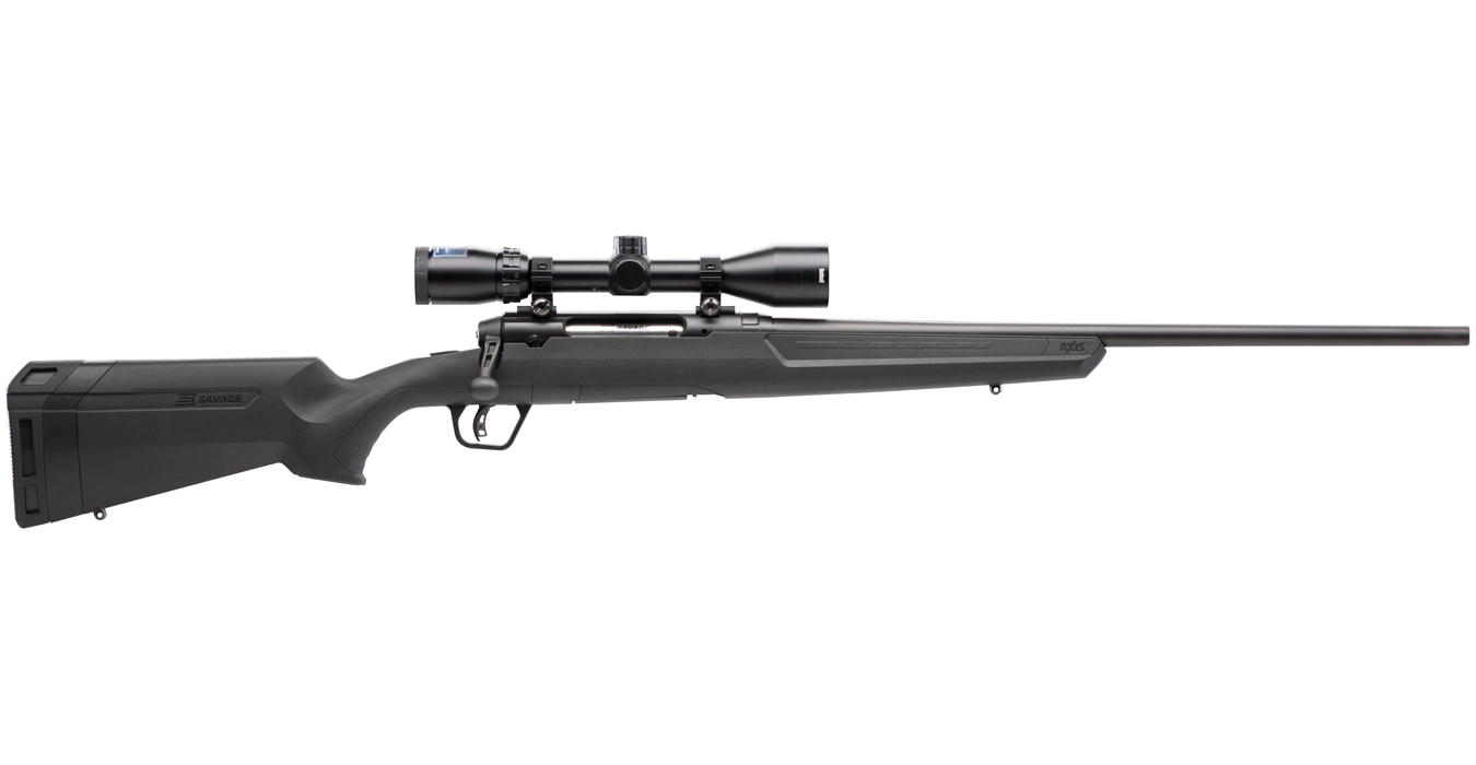 savage axis ii xp 308 win bolt action rifle with bushnell scope