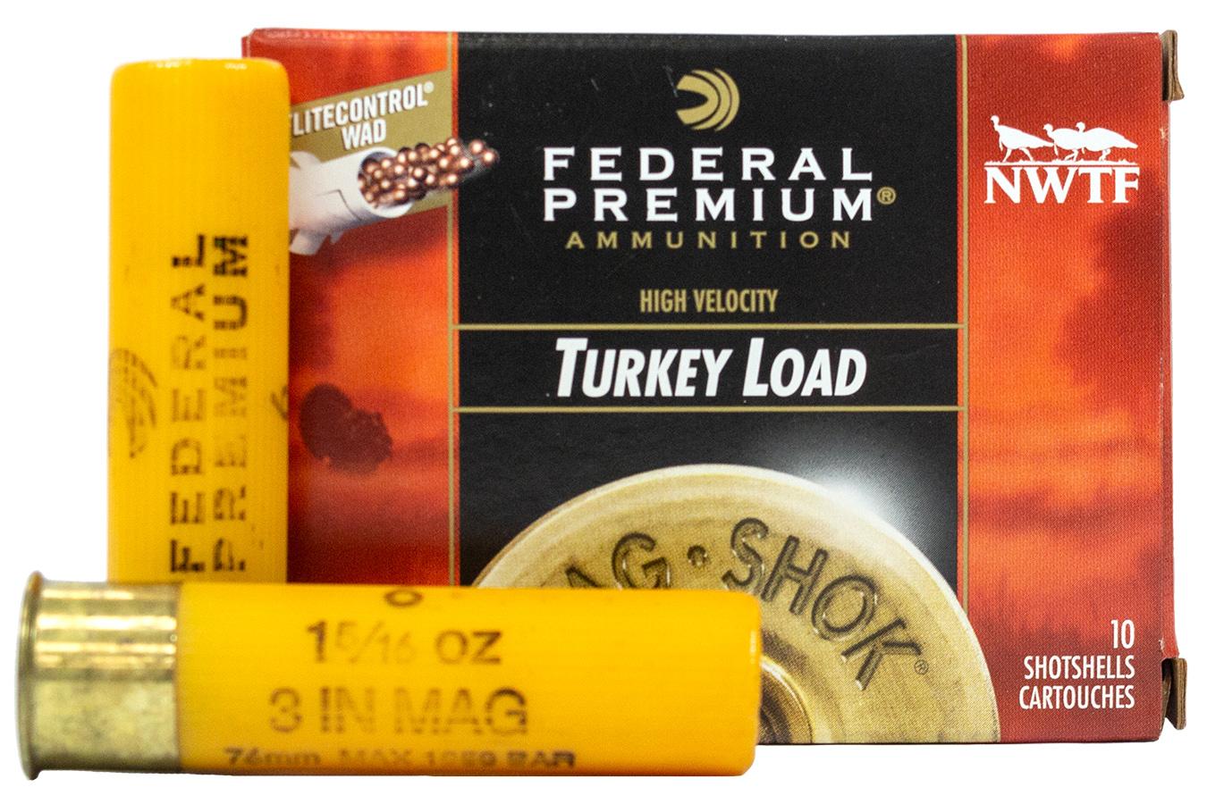 20 Gauge 3 Inch 1 5/16 oz 6 Shot Turkey Load Mag Shok 10/Box