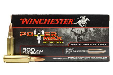WINCHESTER AMMO 300 WSM 150 gr Protected Hollow Point Power Max 20/Box