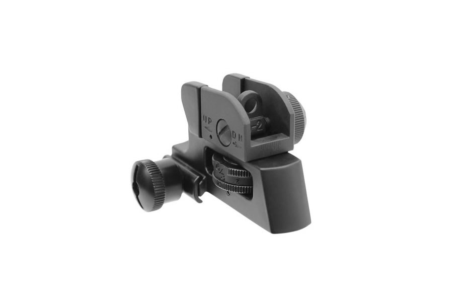 leapers detachable compact rear sight with full windage and