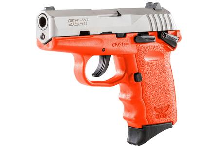 CPX-1 9MM ORANGE WITH STAINLESS SLIDE
