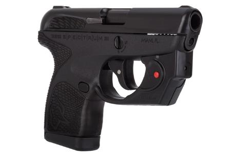 TAURUS SPECTRUM 380 ACP WITH VIRIDIAN LASER
