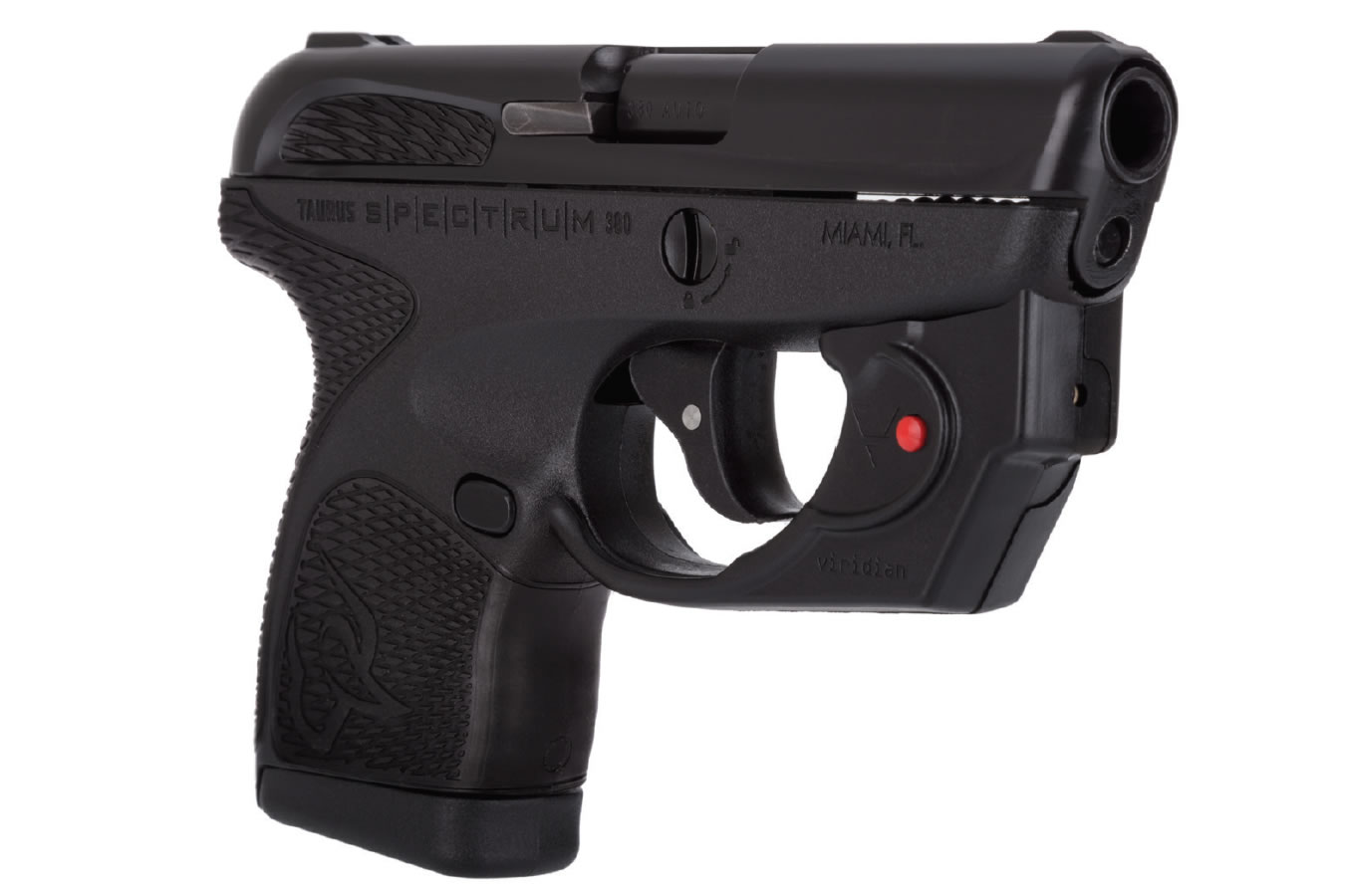 SPECTRUM 380 ACP WITH VIRIDIAN LASER