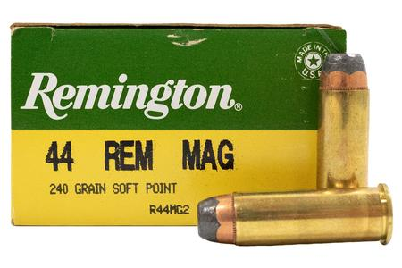 REMINGTON 44 Rem Mag 240 gr Soft Point 25/Box