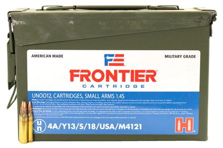 Hornady 5.56 NATO 55 gr Hollow Point Match Frontier 500/Can