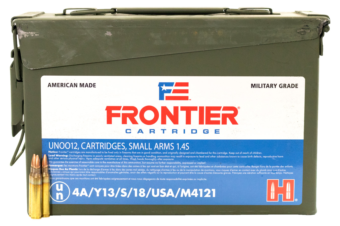 5.56 NATO 55 GR HOLLOW POINT MATCH (500)