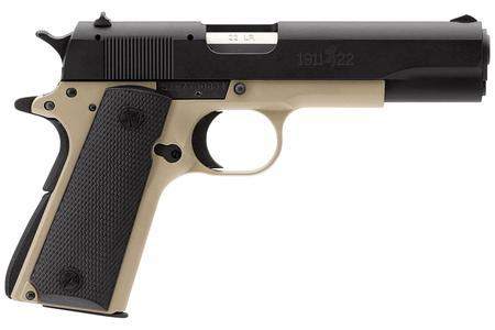 Browning 1911-22 A1 22LR Full-Size Desert Tan Rimfire Pistol