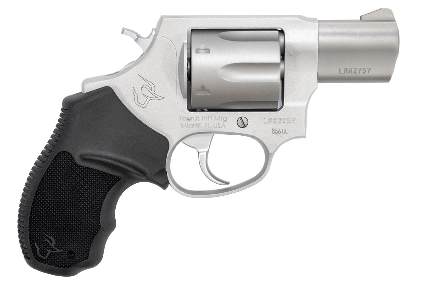 856 Ultra Lite 38 Special Matte Stainless Double-Action Revolver