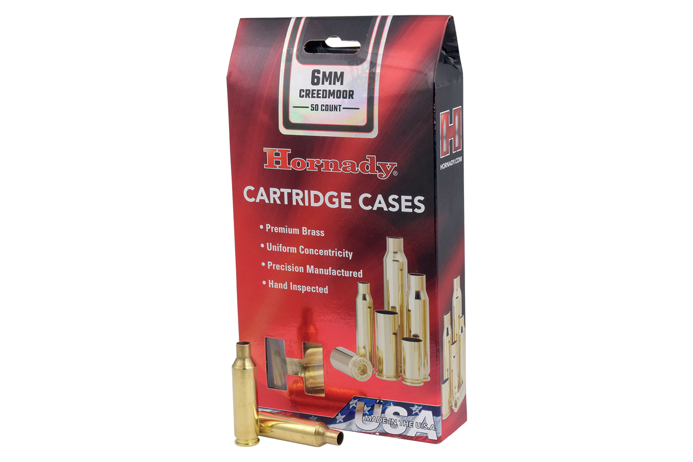 6MM CREEDMOOR UNPRIMED CASES
