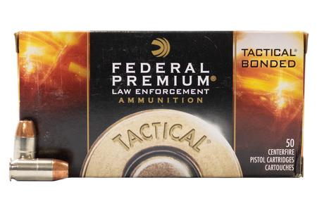 Federal 45 Auto +P 230 gr Tactical Bonded Hollow Point Police Trade Ammo 50/Box