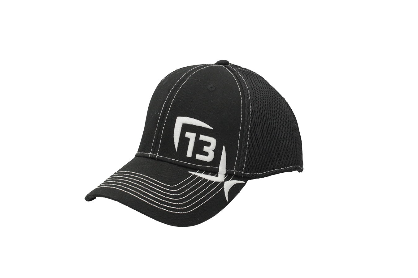 32fcc1f1a63 13 Fishing The Professional Black Flex Fit Hat
