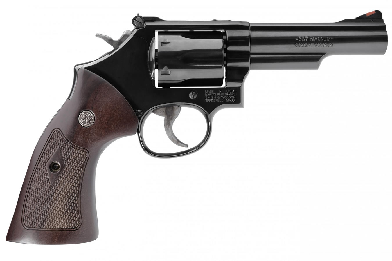 smith wesson model 19 classic 357 magnum blued revolver