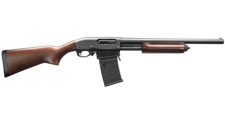 REMINGTON 870 DM 12 GAUGE WITH HARDWOOD STOCK