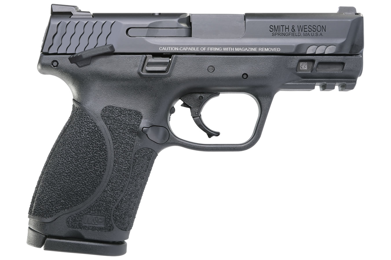No. 16 Best Selling: SMITH AND WESSON MP9 M2.0 COMPACT 9MM 3.6 THUMB SAFETY