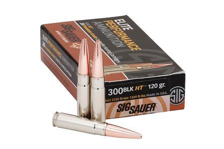 Sig Sauer 300 Blackout 120 gr Elite Hunting Solid Copper 20/Box