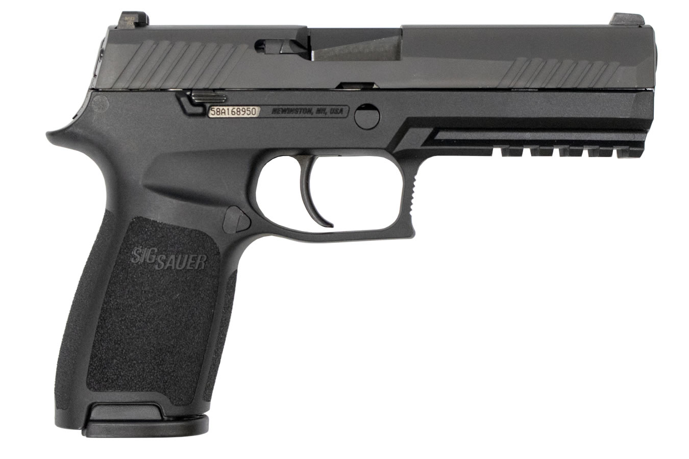 P320 FULL-SIZE 9MM WITH NIGHT SIGHTS