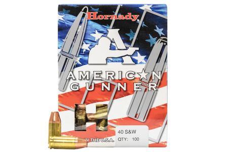 Hornady 40 S&W 180 gr XTP American Gunner 100/Box