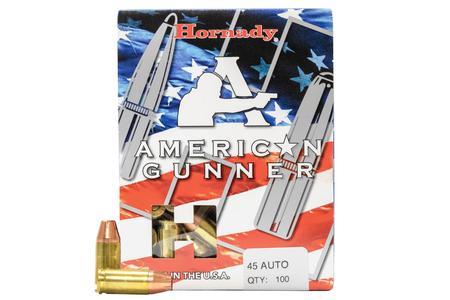 Hornady 45 Auto 185 gr XTP American Gunner 100/Box