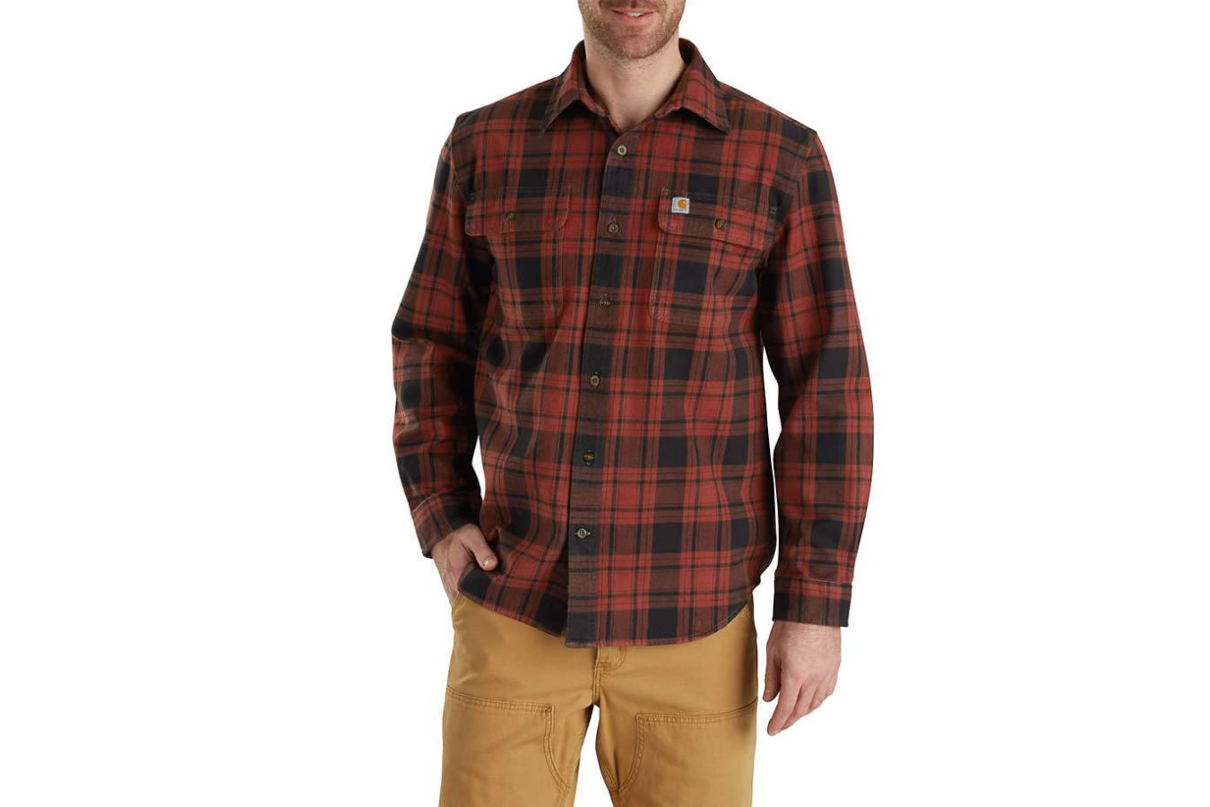 oficjalna strona dostać nowe na wyprzedaży Hubbard Plaid Flannel Shirt
