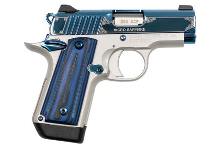 Kimber Micro Sapphire Special Edition 380 Auto with Blue PVD Finish