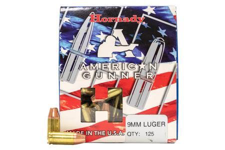 Hornady 9mm 115 gr XTP American Gunner 125/Box