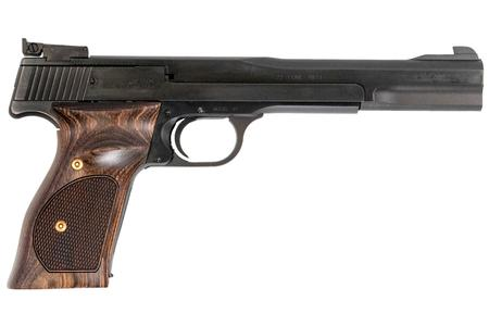 SMITH AND WESSON MODEL 41 22LR WOOD TARGET GRIP 7-INCH