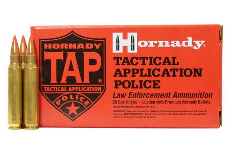 HORNADY 223 Remington 60 gr TAP Urban Police-Trade Ammo 20/Box
