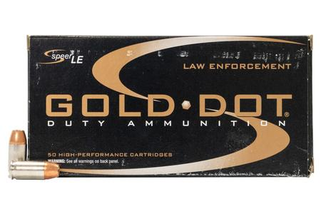 Speer 380 Auto 90 gr Gold Dot Hollow Point Police Trade Ammo 50/Box