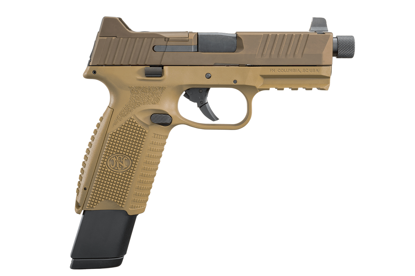 FN 509 TACTICAL FDE 9MM 17  24 RND MAGS