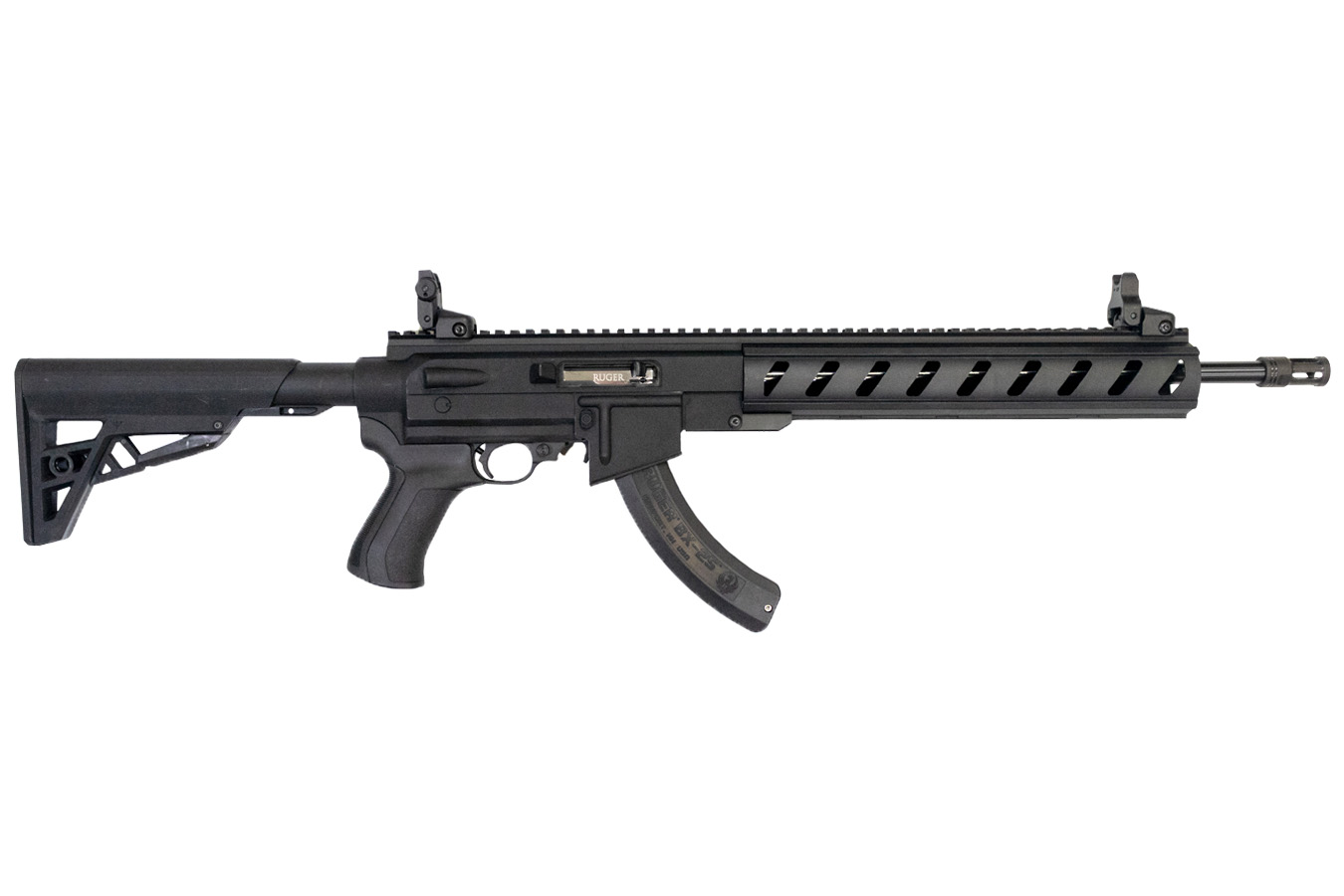 ruger 10 22 tactical 22lr with ati ar 22 stock sportsman s outdoor