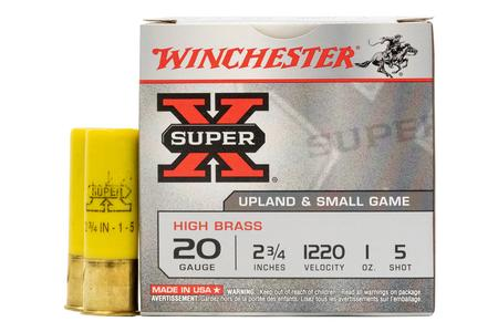 WINCHESTER AMMO 20 Gauge 2 3/4 in 1 oz 5 Shot - Super X 25/Box