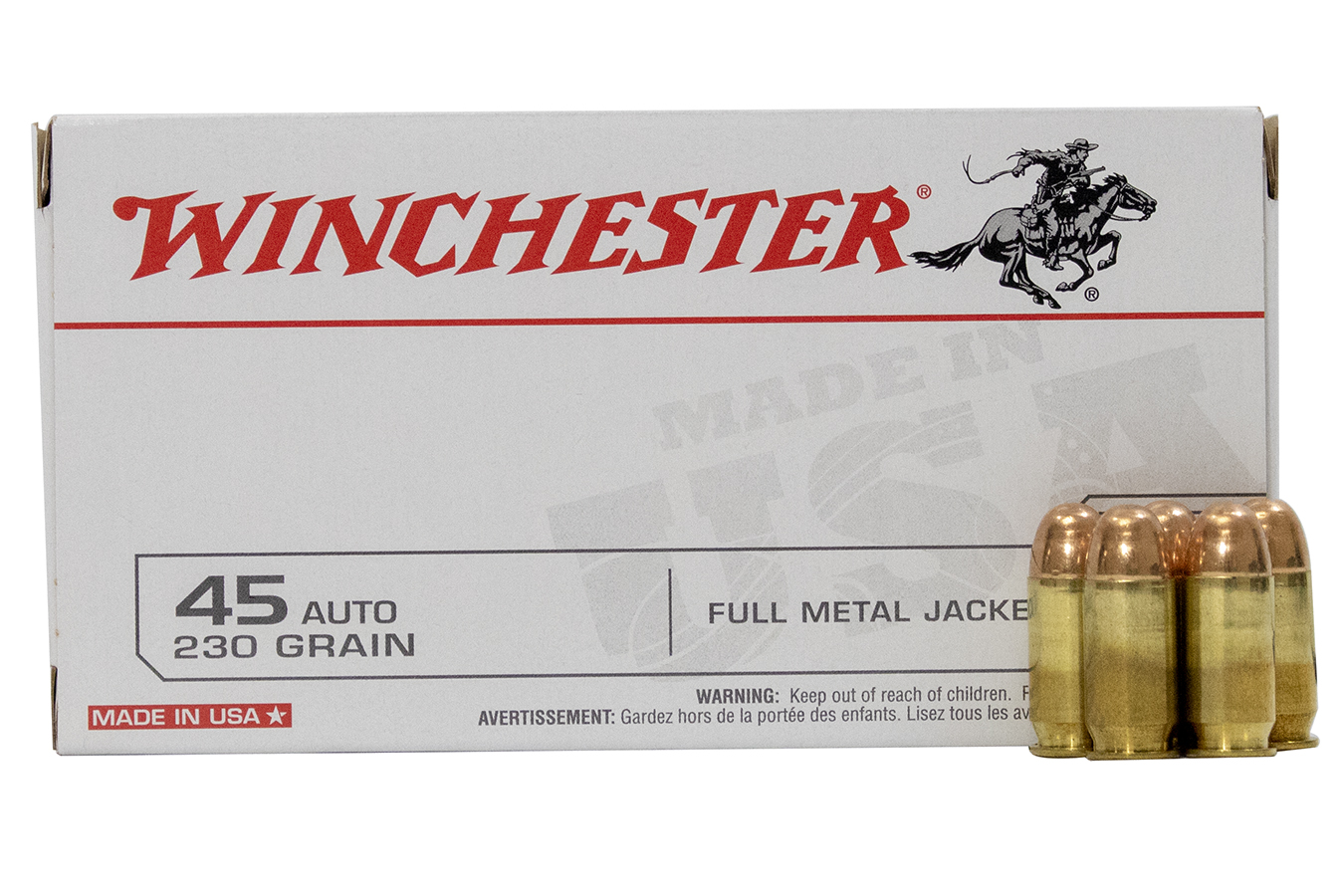 45 AUTOMATIC 230 GR. FULL METAL JACKET
