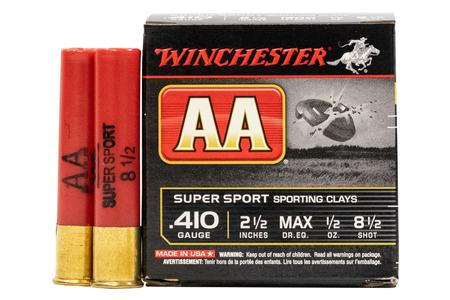 Winchester 410 Gauge 2 1/2 in 1/2 oz 8 1/2 Shot - AA Super Sport 25/Box