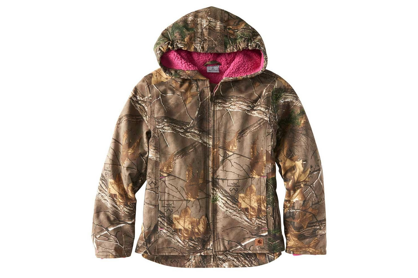 da7c9508af3 Carhartt Kids Camo Redwood Jacket | Vance Outdoors