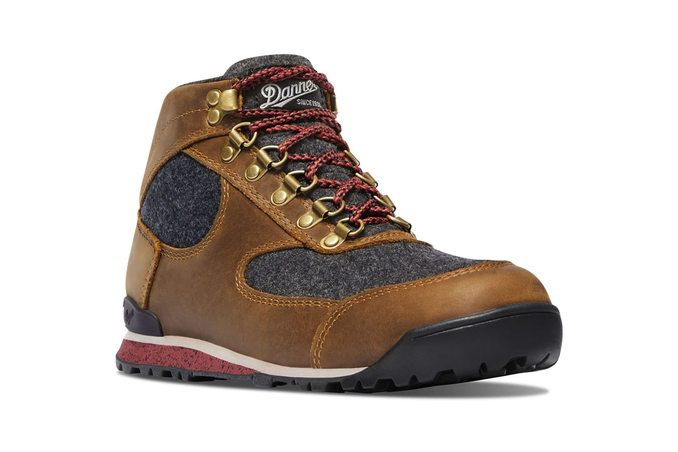Danner Women S Jaq Wool Elk Brown Vance Outdoors