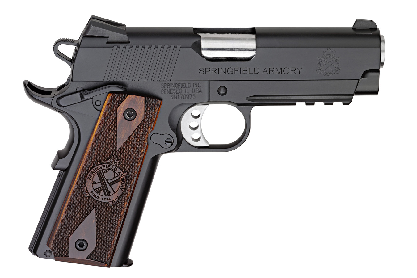 No. 20 Best Selling: SPRINGFIELD 45ACP LW CHAMPION OPERATOR W/ RANGE BAG