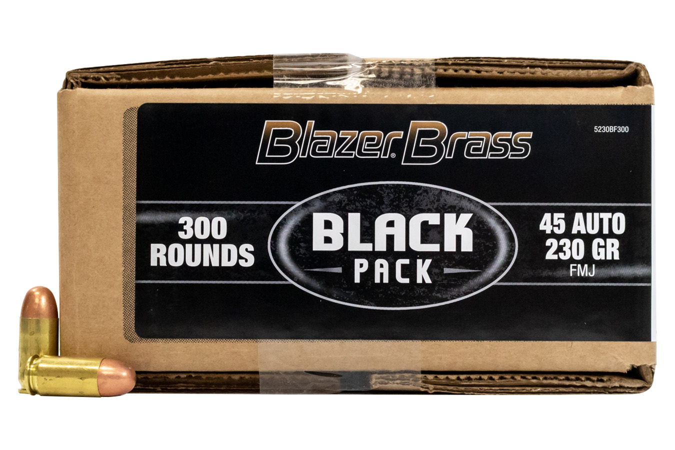 45 AUTO 230 GR FMJ 300 RD BLACK PACK