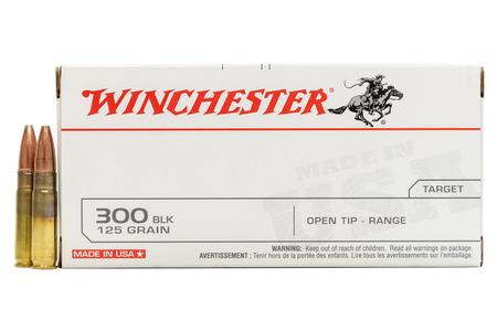 WINCHESTER AMMO 300 AAC Blackout 125 gr Open Tip Range 20/Box