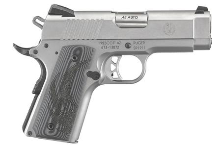 RUGER SR1911 45 ACP OFFICER-STYLE PISTOL