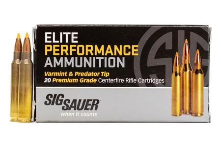 SIG SAUER 223 Remington 40 gr Varmint and Predator Tip 20/Box