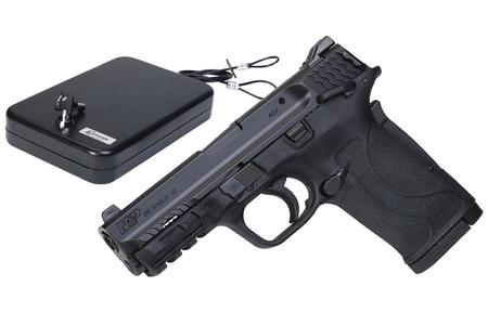 SMITH AND WESSON MP 380 SHIELD EZ M2.0 W/ HANDGUN VAULT