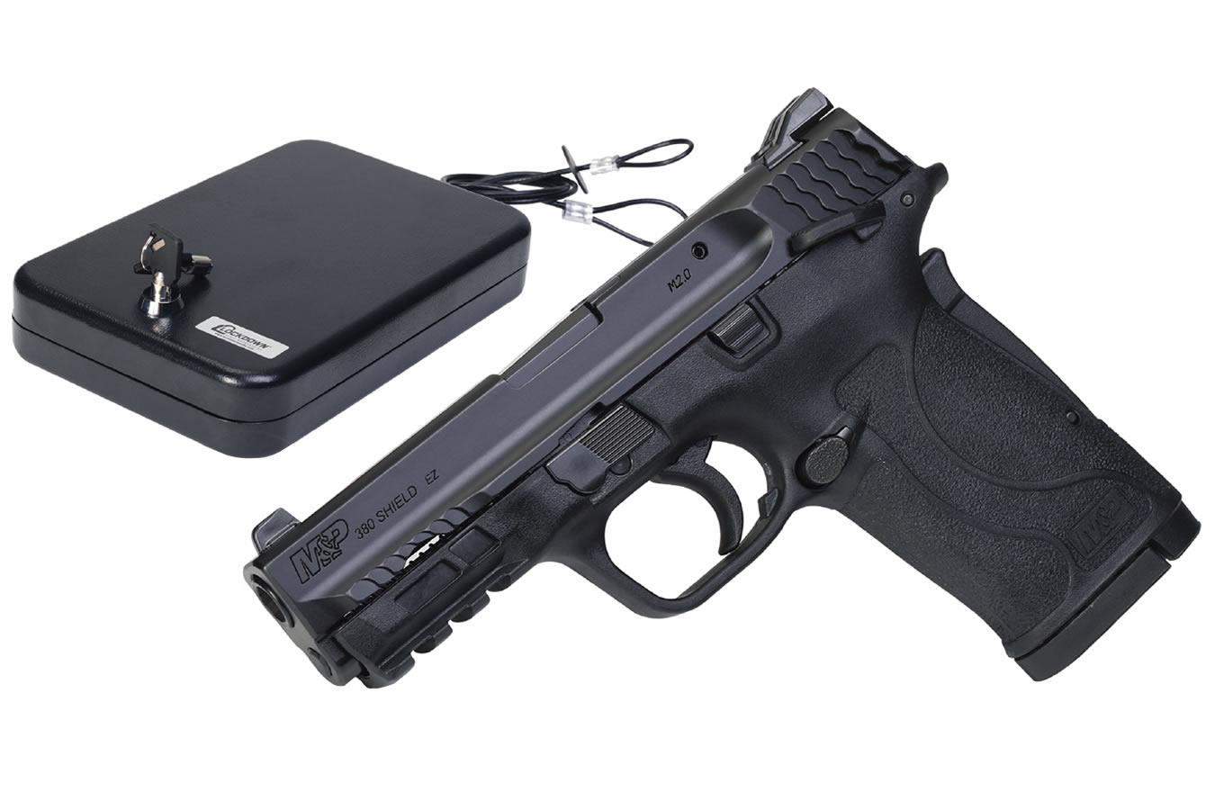 MP 380 SHIELD EZ M2.0 W/ HANDGUN VAULT