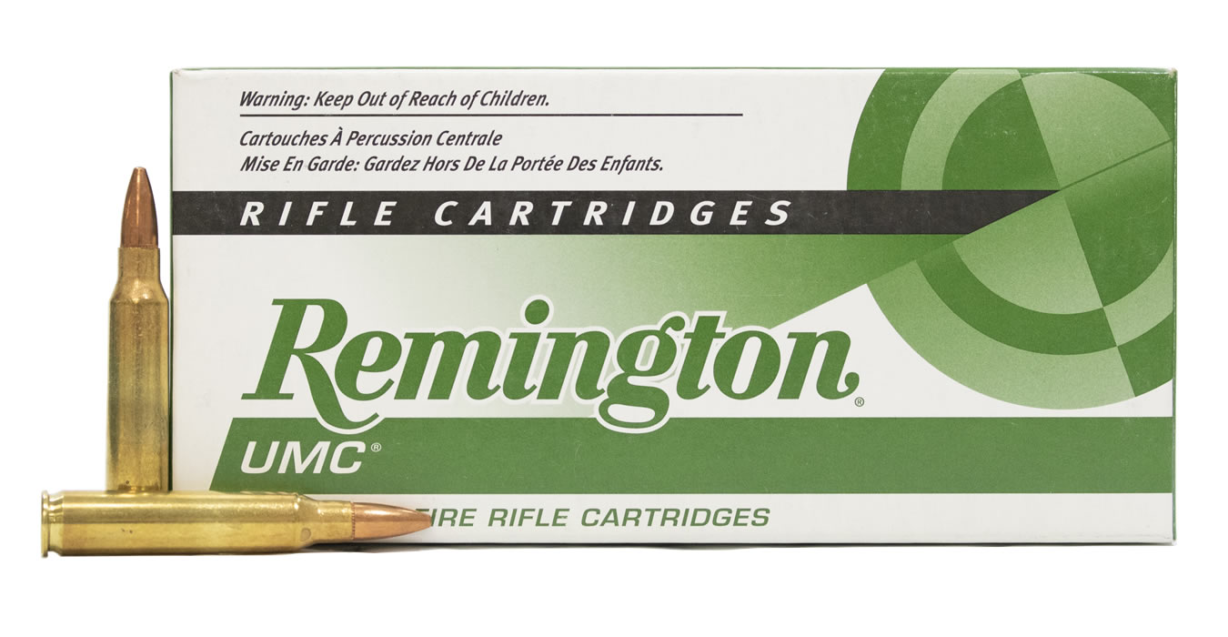 REMINGTON 223 REM 55 GR UMC POLICE TRADE AMMO