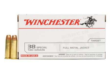 Winchester 38 Special 130 gr FMJ 50/Box